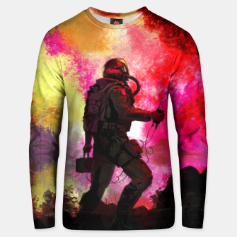 Thumbnail image of Colorful Astronaut Unisex sweater, Live Heroes