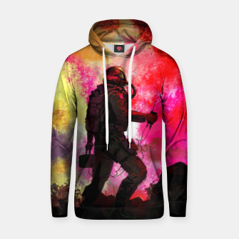 Thumbnail image of Colorful Astronaut Hoodie, Live Heroes