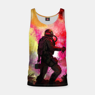 Thumbnail image of Colorful Astronaut Tank Top, Live Heroes