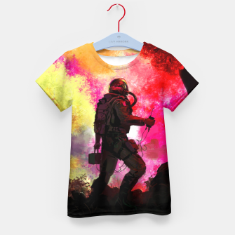 Thumbnail image of Colorful Astronaut Kid's t-shirt, Live Heroes