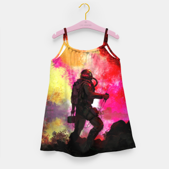 Thumbnail image of Colorful Astronaut Girl's dress, Live Heroes