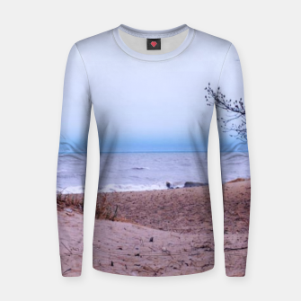 Thumbnail image of Lake Michigan Dunes Women sweater, Live Heroes