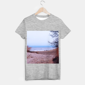 Miniature de image de Lake Michigan Dunes T-shirt regular, Live Heroes