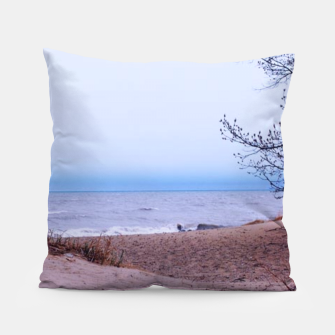 Thumbnail image of Lake Michigan Dunes Pillow, Live Heroes