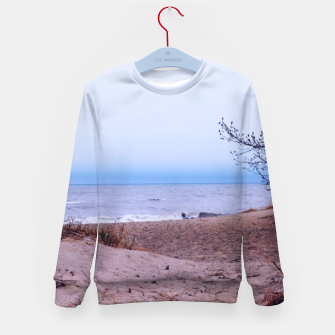 Miniature de image de Lake Michigan Dunes Kid's sweater, Live Heroes