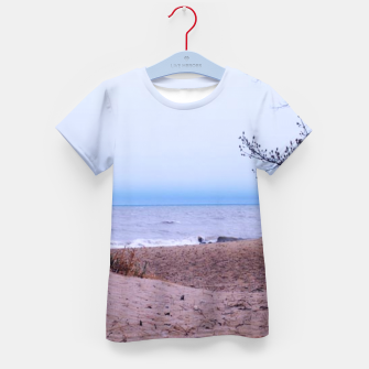 Thumbnail image of Lake Michigan Dunes Kid's t-shirt, Live Heroes
