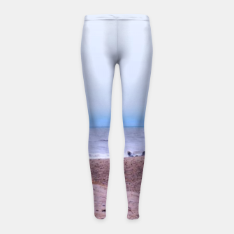 Thumbnail image of Lake Michigan Dunes Girl's leggings, Live Heroes