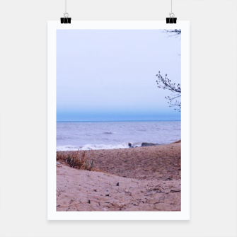 Thumbnail image of Lake Michigan Dunes Poster, Live Heroes