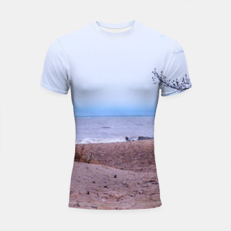 Thumbnail image of Lake Michigan Dunes Shortsleeve rashguard, Live Heroes