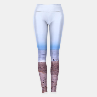 Thumbnail image of Lake Michigan Dunes Leggings, Live Heroes