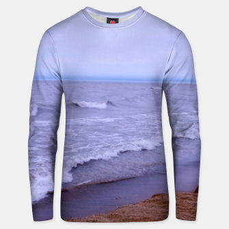 Thumbnail image of Lake Michigan Beach Waves Unisex sweater, Live Heroes