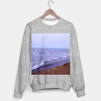 Thumbnail image of Lake Michigan Beach Waves Sweater regular, Live Heroes