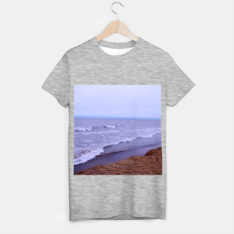 Thumbnail image of Lake Michigan Beach Waves T-shirt regular, Live Heroes