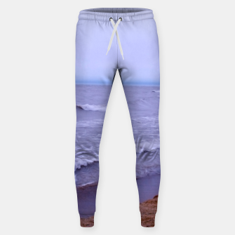 Thumbnail image of Lake Michigan Beach Waves Sweatpants, Live Heroes