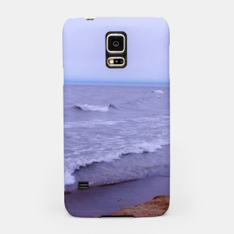 Thumbnail image of Lake Michigan Beach Waves Samsung Case, Live Heroes