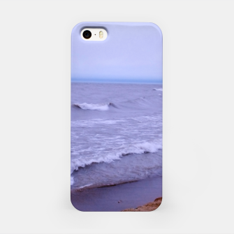 Thumbnail image of Lake Michigan Beach Waves iPhone Case, Live Heroes