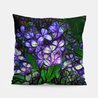 Thumbnail image of Lilac Abstract Pillow, Live Heroes