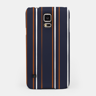 Thumbnail image of Navy and Rust Stripes Samsung Case, Live Heroes