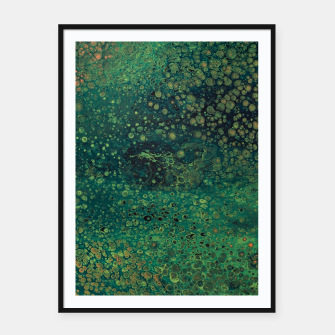 Thumbnail image of Surface Tension Framed poster, Live Heroes