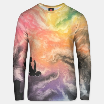 Thumbnail image of Colourful Sky Dive Unisex sweater, Live Heroes