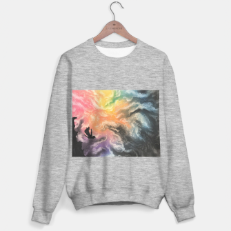 Thumbnail image of Colourful Sky Dive Sweater regular, Live Heroes