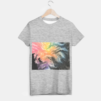 Thumbnail image of Colourful Sky Dive T-shirt regular, Live Heroes
