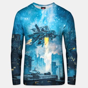 Thumbnail image of Voyager by Night Unisex sweater, Live Heroes