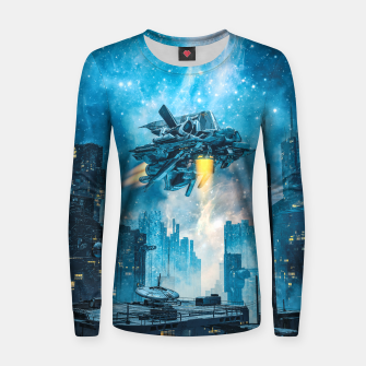 Thumbnail image of Voyager by Night Women sweater, Live Heroes