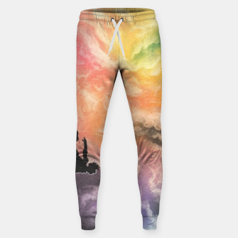 Thumbnail image of Colourful Sky Dive Sweatpants, Live Heroes