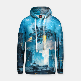 Thumbnail image of Voyager by Night Hoodie, Live Heroes