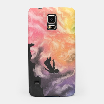 Thumbnail image of Colourful Sky Dive Samsung Case, Live Heroes