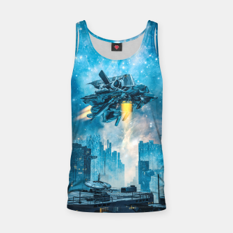 Thumbnail image of Voyager by Night Tank Top, Live Heroes
