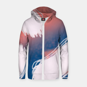 Thumbnail image of Puff Zip up hoodie, Live Heroes