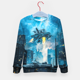 Thumbnail image of Voyager by Night Kid's sweater, Live Heroes