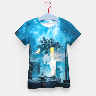 Thumbnail image of Voyager by Night Kid's t-shirt, Live Heroes