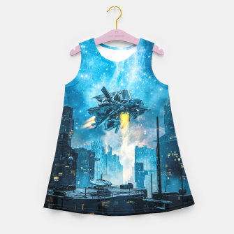Thumbnail image of Voyager by Night Girl's summer dress, Live Heroes