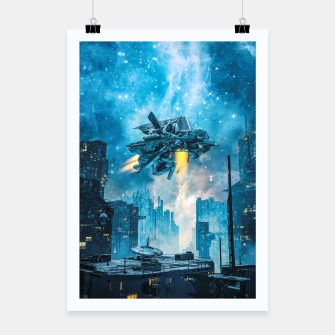 Thumbnail image of Voyager by Night Poster, Live Heroes