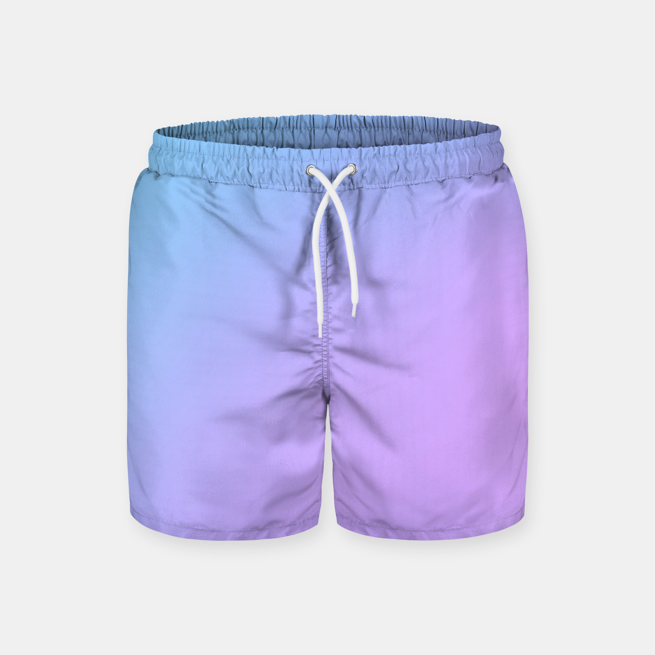 Image of Blue pink purple gradient background Swim Shorts - Live Heroes