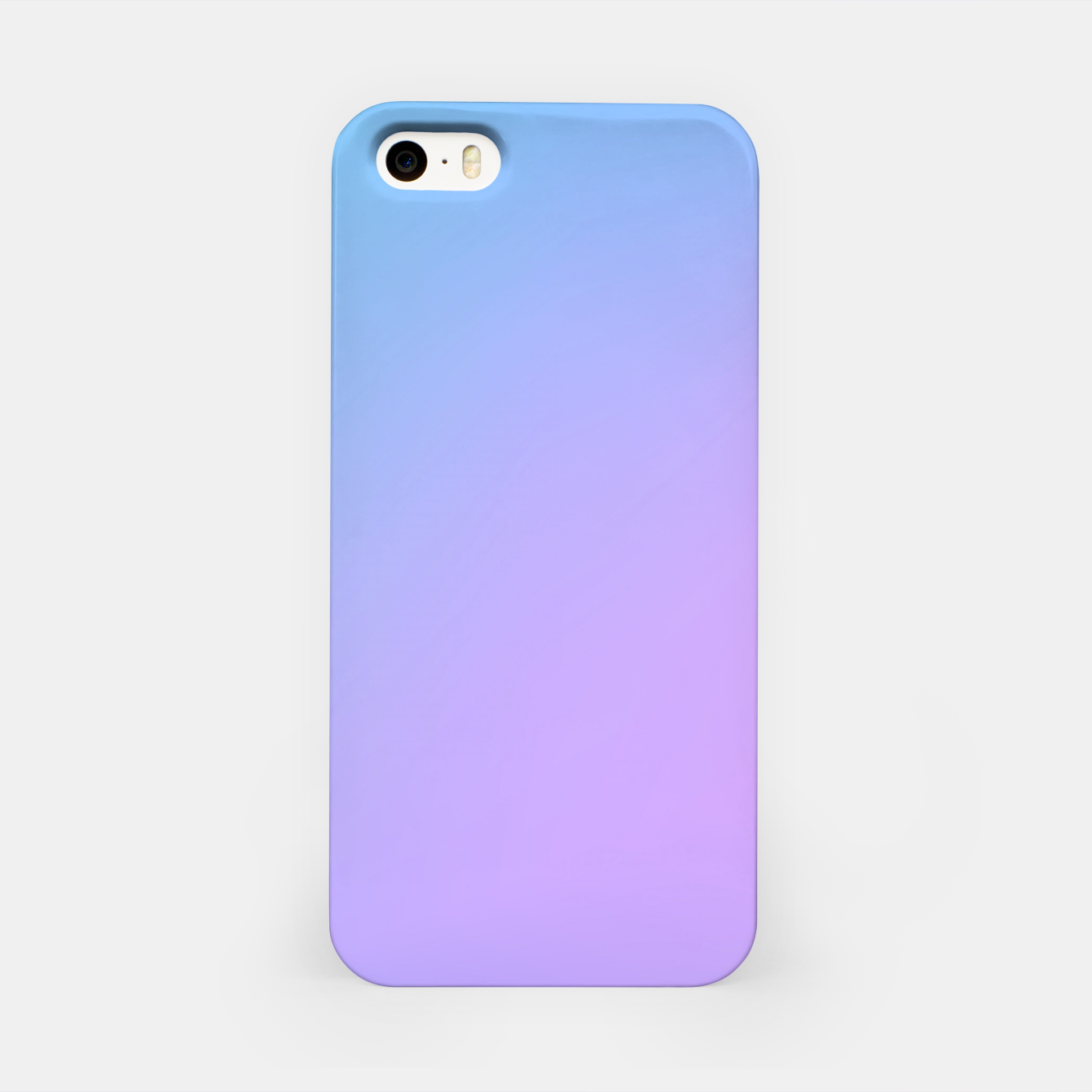Image of Blue pink purple gradient background iPhone Case - Live Heroes