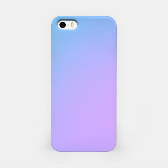 Miniaturka Blue pink purple gradient background iPhone Case, Live Heroes