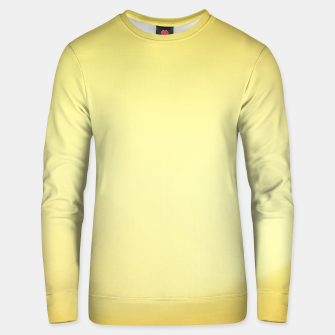 Thumbnail image of Yellow sunny grain gradient Unisex sweater, Live Heroes