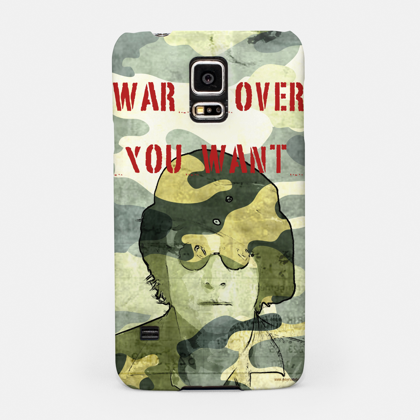 Foto Quote - war is over if you want it Samsung Case - Live Heroes