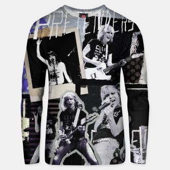 Pretenders collage Unisex sweater Bild der Miniatur