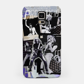 Miniatur Pretenders collage Samsung Case, Live Heroes