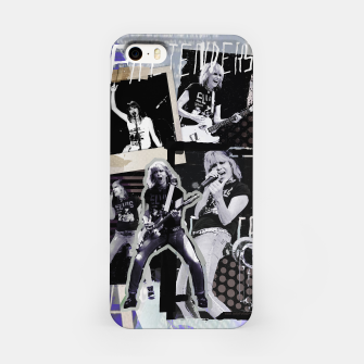 Miniatur Pretenders collage iPhone Case, Live Heroes
