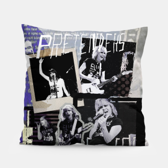 Miniatur Pretenders collage Pillow, Live Heroes