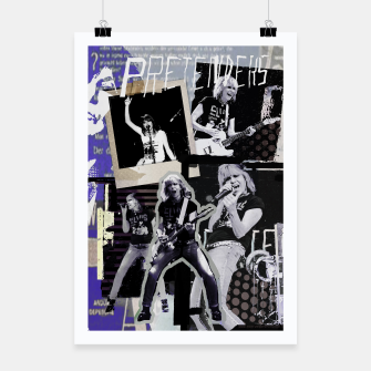 Miniatur Pretenders collage Poster, Live Heroes