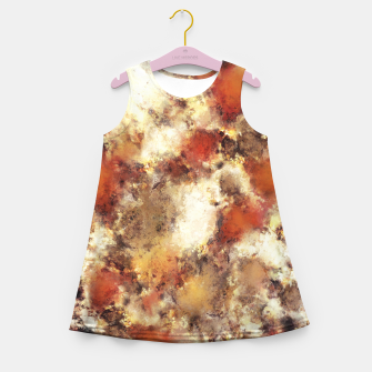 Miniaturka Terracotta tumble Girl's summer dress, Live Heroes