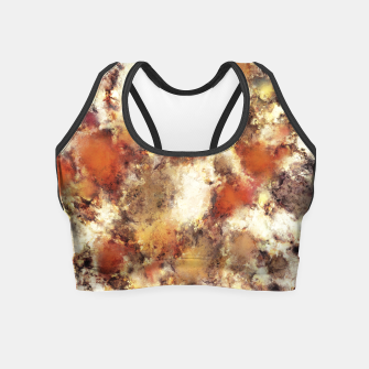 Miniaturka Terracotta tumble Crop Top, Live Heroes
