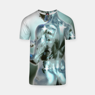 Miniaturka Female Chrome Bodybuilder T-Shirt, Live Heroes